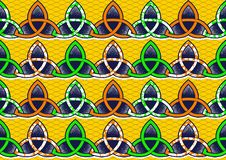 Textile fashion african print stock illustration
