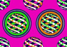 Textile fashion african print fabric super wax. Textile fashion, african print fabric, abstract seamless pattern, vector illustration file stock illustration