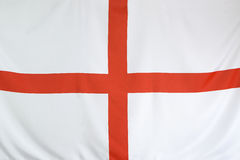 Textile flag of England Stock Image