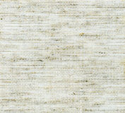 Textile flax fabric wickerwork texture background Royalty Free Stock Photography