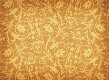 Textile with floral ornament Stock Photography