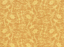 Textile with floral ornament Stock Photos