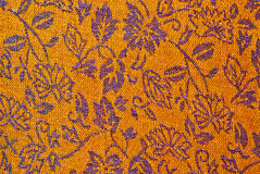 Textile floral pattern Royalty Free Stock Photography