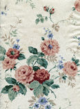 Textile with floral pattern Royalty Free Stock Image