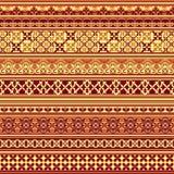 Textile floral pattern Stock Photos