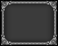 Textile frame in vintage style Royalty Free Stock Image