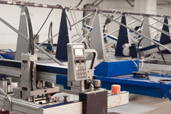 Textile and garment factory Stock Images