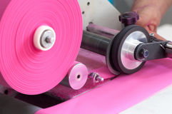 Textile and garment factory Stock Photography
