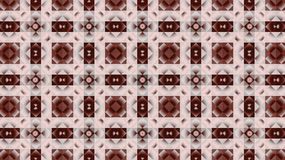 Textile geometric pattern. Pinkand brown. Rhombuses. circles  and squares. Royalty Free Stock Photo