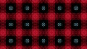 Textile geometric pattern.Red squares. Stock Images