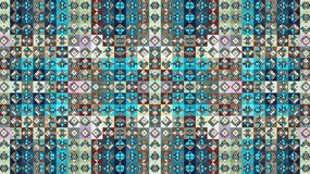 Textile geometric pattern. Rhombuses and squares. Patchwork. Stock Photos
