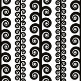 Textile geometric seamless pattern. Royalty Free Stock Images
