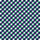 Textile green and purple seamless pattern. Crossed lines textile green and purple seamless pattern Stock Images