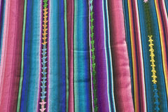 Textile from Guatemala Royalty Free Stock Images