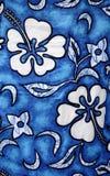 Textile hawaïen Photographie stock