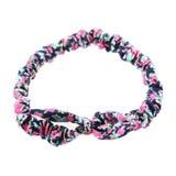 Textile headband isolated on white Royalty Free Stock Photography