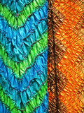 Textile indien, plan rapproché Photos stock