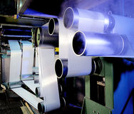 Textile industry Stock Images