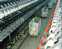 Textile industry Stock Photography