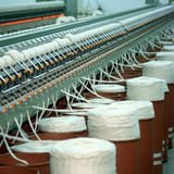 Textile industry Stock Image
