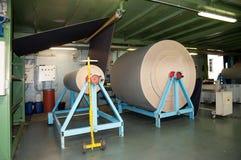 Textile industry (denim) - Finishing Stock Images