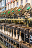 Textile industry machinery and equipment Royalty Free Stock Photography