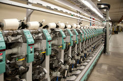 Textile industry - Winding Stock Photo