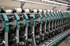 Textile industry - Winding Royalty Free Stock Image