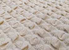 Textile knitting material Royalty Free Stock Photography