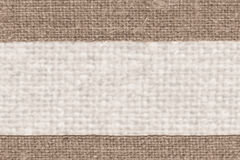 Textile linen, fabric interior, yellow canvas, cotton material, empty background Royalty Free Stock Photos