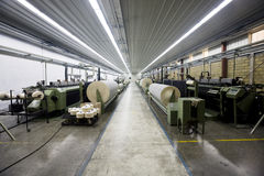 Textile looms. Royalty Free Stock Photos