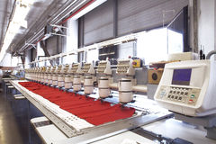 Textile machine Stock Image