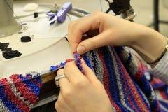 Textile Machinery Stock Image