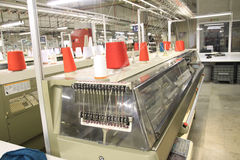 Textile Machinery Stock Photography