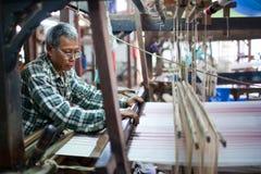 Textile mill, Myanmar Stock Photos