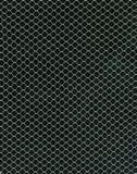 Textile nets background. Image of textile net on black background vector illustration