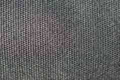 Textile noir de texture dans le macro Photo libre de droits