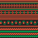 Textile ornamenral pattern Stock Photography