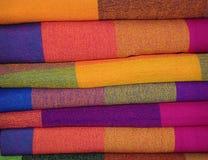 Textile péruvien images libres de droits