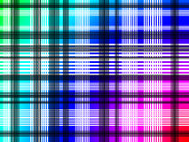 Textile pattern. Colourful textile pattern with lines stock illustration