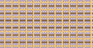 Textile pattern design Stock Images