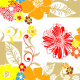 Textile Pattern-Floral Stock Photography