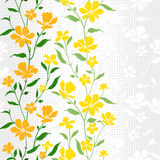 Textile Pattern-Floral-3 Stock Photo