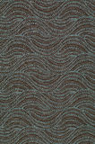 Textile with pattern in form of hills or waves Stock Images