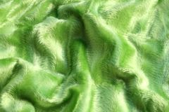 Textile pattern, green fabric Stock Images