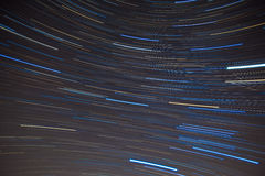 Textile pattern of startrails in Southern night Royalty Free Stock Images
