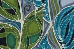Textile peignant les lignes dynamiques Images libres de droits