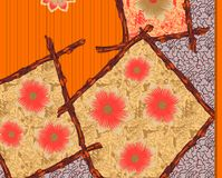 Beautiful colorful textile print design. Textile print design Stock Images