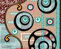 Colorful background print textile design. Textile print design Stock Image