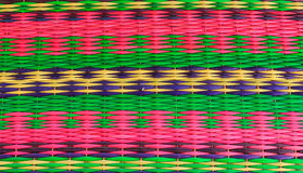 Textile from reeds Royalty Free Stock Photos